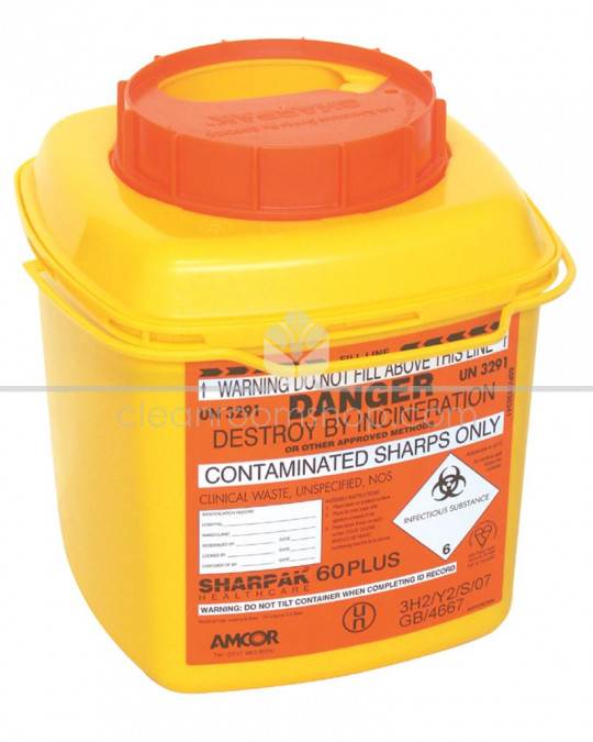 Sharpak 60 Plus (6l) Code Orange