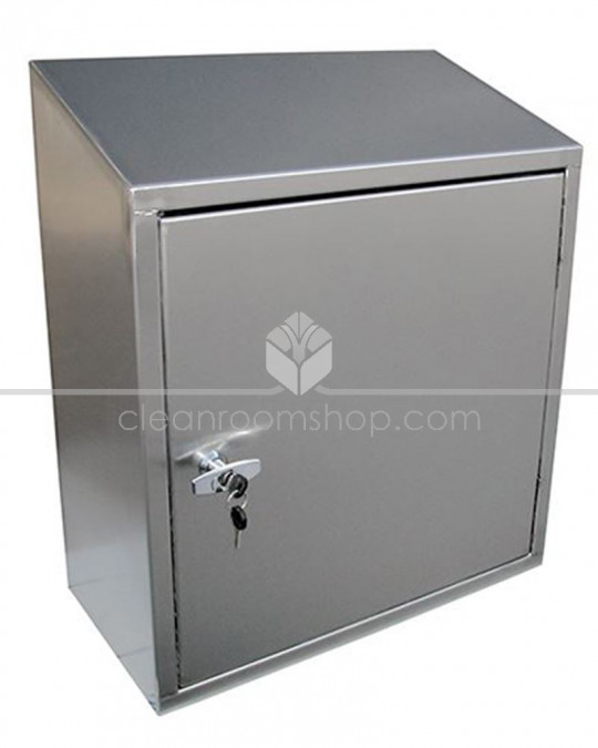 Stainless Steel Sloping Top Wall Cupboard