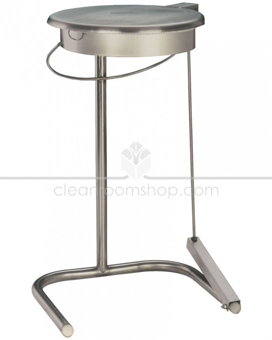 Stainless Steel Waste Bin Bag Holder - Freestanding Ring