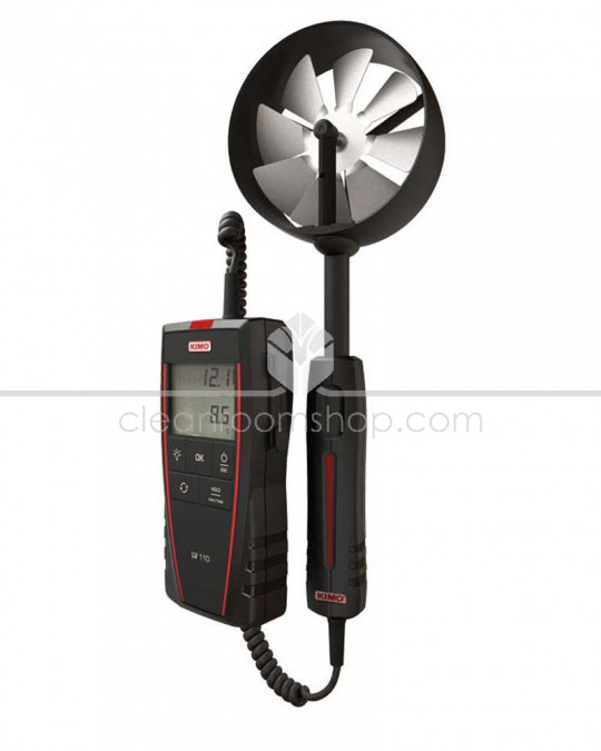 Vane Probe Thermo-Anemometer LV110