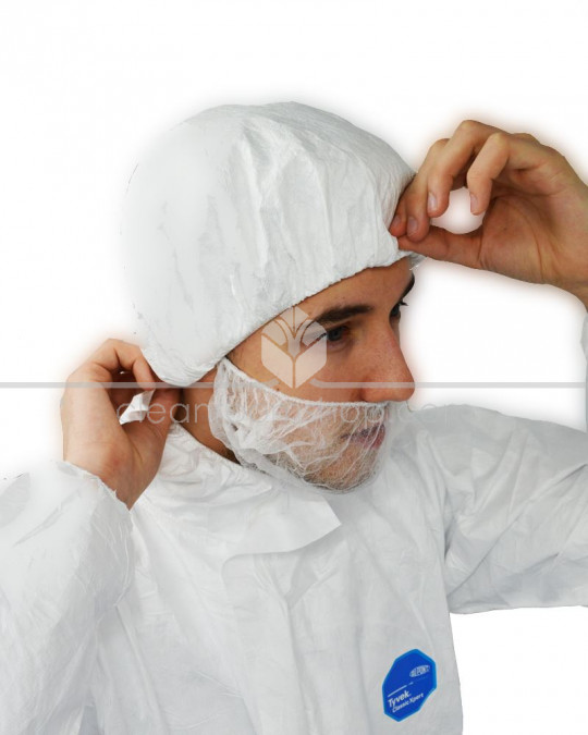 DuPont™Tyvek® IsoClean® Bouffant Hat - Sterile