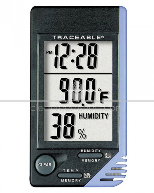 Temperature and Humidity Clock
