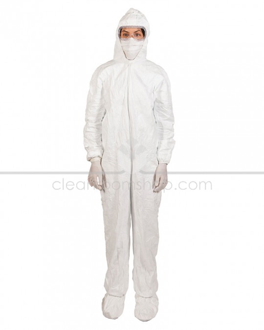 DuPont™ Tyvek® Isoclean® Sterile Hooded Coverall - Case of 25