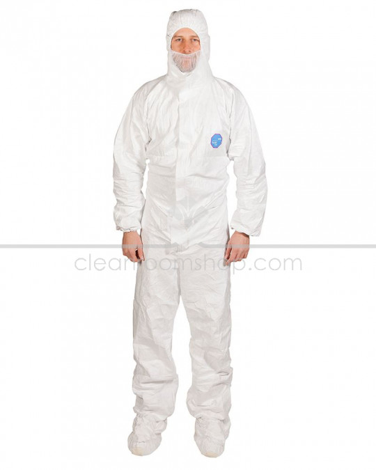 DuPont™ Tyvek® Labo Coverall with Feet and Hood