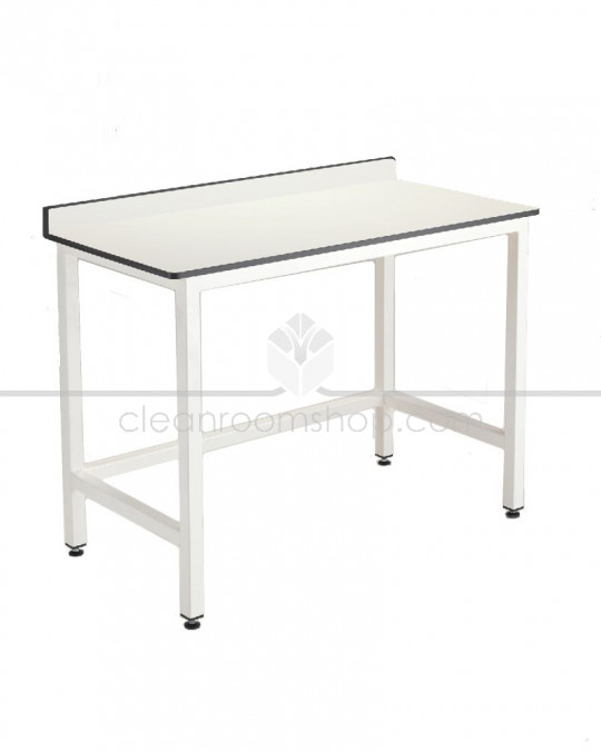 Trespa Toplab Table With Upstand (No Undershelf)
