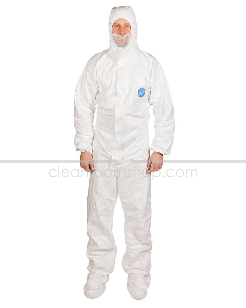 Large L DuPont Tyvek Classic Xpert Coverall Overall Suit Protective Workwear