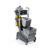 Twin Bucket Mopping System