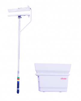 Vileda Softwall Cleaner with optional cover and mop box