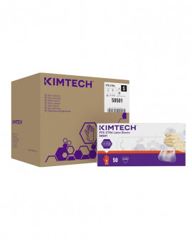 KIMBERLY-CLARK* PFE-XTRA* Gloves Latex  - 30 cm