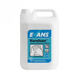 Evans Hand Sanitiser 5 ltr Bottle