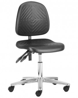 Deluxe Low PU Cleanroom Chair