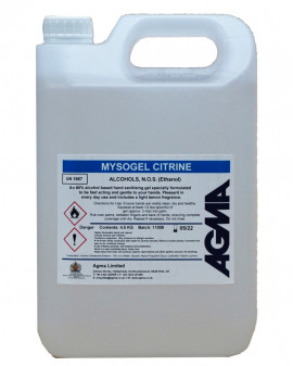 Agma Mysogel Alcohol Hand Gel 4 x 5L