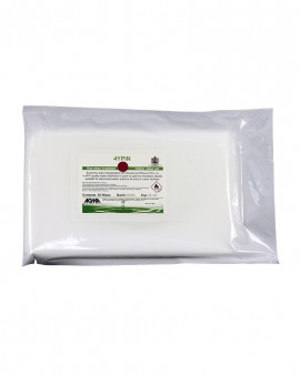 Agma Sterile 70% IPA in WFI 4YPIN Pouch Wipe 30gsm 10x50wipe