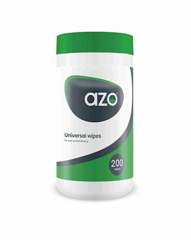 Azo™ Universal Wipes 200 Canister - Case of 12