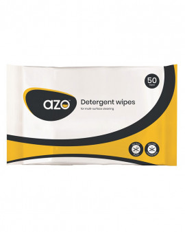 Azo™ Detergent Wipes - 50 pouch