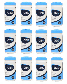 Azo™ Wipette 70% IPA  Disinfectant wipes 12 x 100 wipes