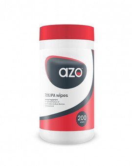 Azowipe™ Equipment Wipes 200 Canister CE - Case of 12