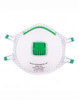 Benchmark FFP3 Disposable RPE Face Mask (Box 10)
