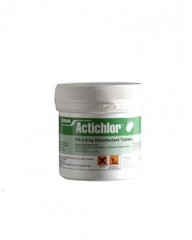 Actichlor Disinfectant Tablets 2.5g - 6 x 100 Tablets