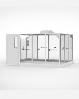 Modular Hardwall Cleanroom - 4 x 3m