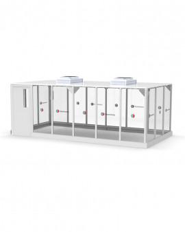Modular Hardwall Cleanroom - 6 x 3m