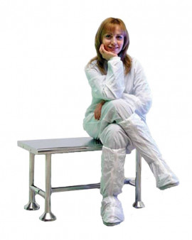 Electropolished Stainless Steel Cleanroom Bench