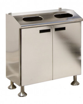 Electropolished S/S Garment Disposal Cabinet