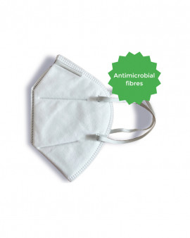 Healthcare Particulate Respirator Purward Fiber (Pack 50)