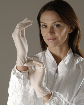 Disposable Nitrile Gloves - Powder Free, White