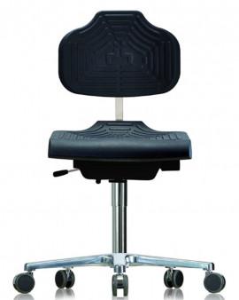 GMP PU Low Chair on Castors