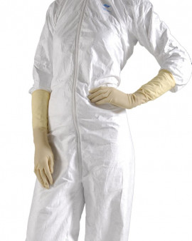 "Disposable Latex Gloves 16"" Sterile - Extra"