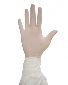 "Disposable Nitrile Gloves 16"" Non Sterile - Nerva"