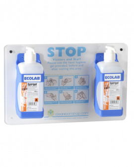 Spirigel CRS Hand Hygiene Sign Kit