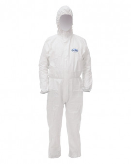 KLEENGUARD* A40 Liquid & Particle Protection Hooded Coveralls