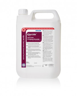 Klercide Sporicidal Enhanced Peroxide 5 Ltr Capped-Case of 4