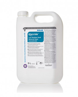 Klercide Low Residue Quat Metered Dose Concentrate 2x5 litre