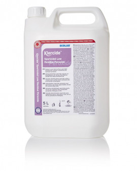 Klercide Sporicidal Low Residue Peroxide Sterile Capped 5L