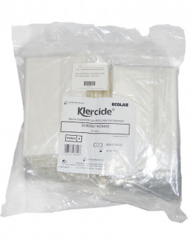 Klercide Low Particulate Sterile Flat Mophead - Pack of 20