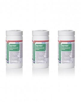Klerwipe 70/30 Denatured Ethanol Sterile Tub Wipe - Case 15