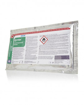 Klerwipe 70/30 Denatured Ethanol Mop Wipes - 10 Pouches
