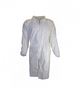 Chemsplash Zipped Lab Coat - Case of 25