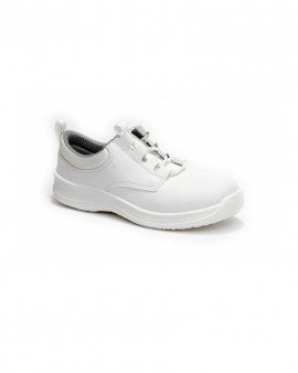 Toffeln SafetyLite Lace Up - White