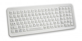 Cleanable Sealed Keyboard with Integrated Backlighting