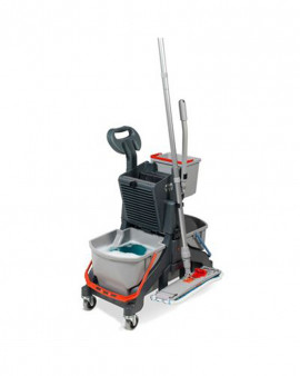 MidMop Twin Bucket Mopping System