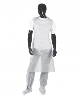 Pal Apron on a Roll - White - Roll of 200 - Case of 5
