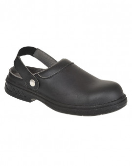 Portwest Steelite Safety Clog Black