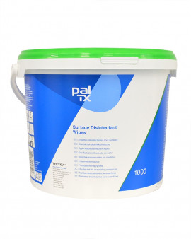 Pal TX QUAT/PHMB & Alcohol Free Wipe - 1000 Wipe Bucket