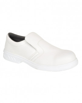 Portwest Steelite Slip on Safety Shoe White