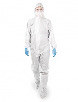 SimSafe Hooded Coverall Sterile