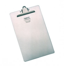 Stainless Steel A4 Portrait Clipboard